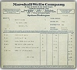 Invoice - July 22, 1936
